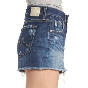 Ag Adriano Goldschmied Shorts - NWT  AG Bryn High Rise Cutoff Denim Shorts, 27